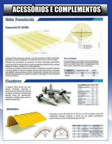 Telhas termicas-metalicas -sanduiche - Foto 4