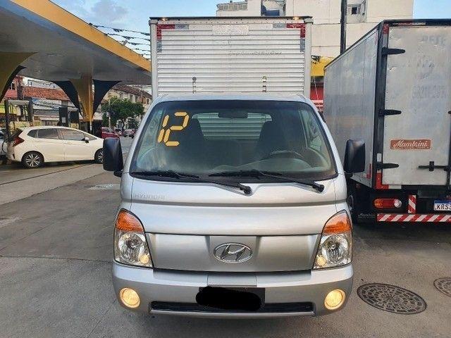 Hyundai Hr Turbo Diesel Baú Seco 2012/Prata - Foto 3