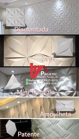 Drywall e Paredes 3D - Foto 5