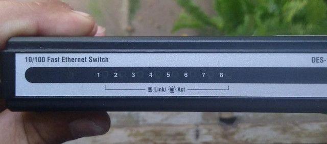 Switch D link 8 portas