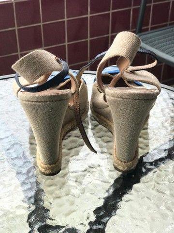 Sandália de fita Arezzo n. 37 - Foto 3