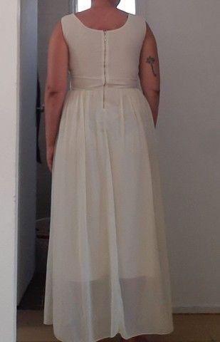 Vestido de noiva tam 46 - Foto 5