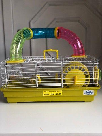 Gaiola de hamster NOVA