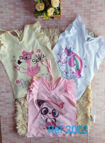 blusa infantil  por encomenda