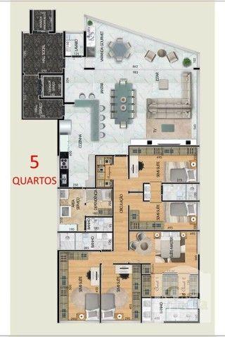 Apartamento à venda com 4 dormitórios em Santa lúcia, Belo horizonte cod:265827 - Foto 7