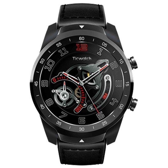 Relogio Smartwatch Mobvoi Ticwatch Pro Liq. Metal Silver 45mm Xiaomi - Foto 2