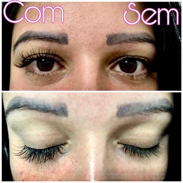 Extensão de cílios e design de sobrancelhas  - Foto 3