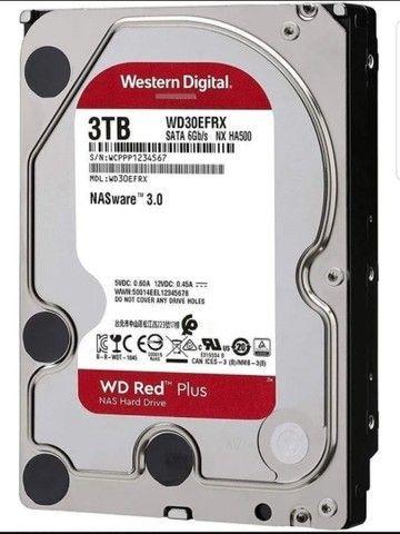 Disco Rígido Interno Western Digital Wd Red Wd30efrx 3tb
