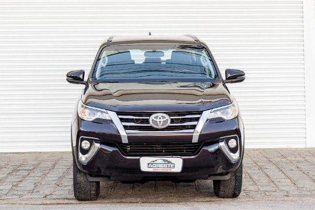 Toyota hilux sw4 4x2 srv flex 2018 automatica *IPVA 2021 PAGO* - Foto 2