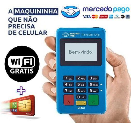 Maquininha de Cartão de Crédito & Débito - Foto 3