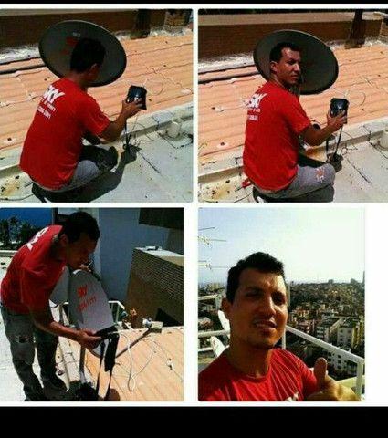 Instalador de antenas profissional antenista  - Foto 2