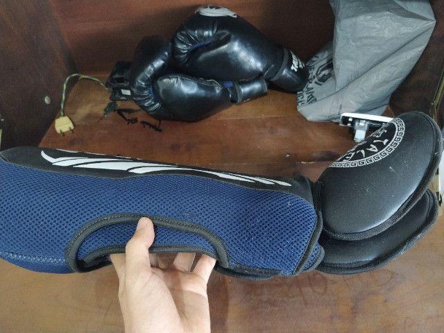 Luva de Boxe (Muay Thai) + Caneleira - Foto 2