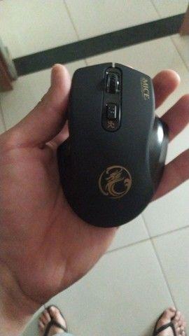 mouse gamer 2000dpi sem fio  - Foto 2