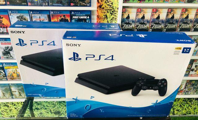 PS4 Slim 500gb. Venha conhecer a maior loja de games do ABC!  - Foto 2