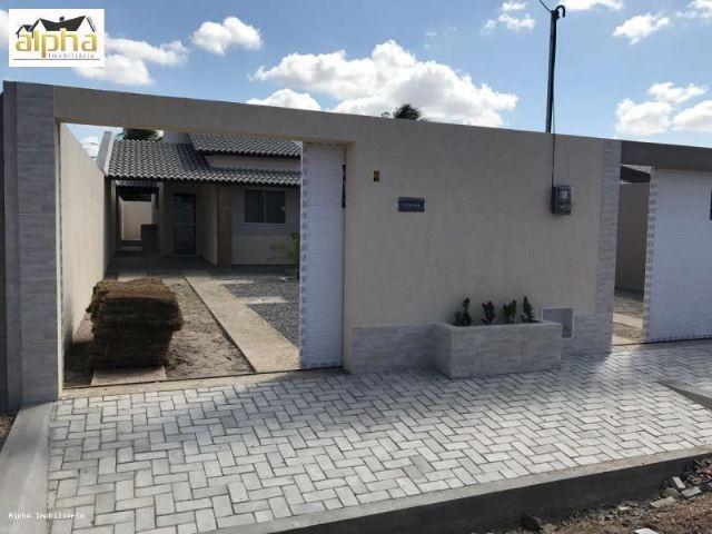 Casa Plana 3 quartos Maracanaú - Bandeirantes - Documentação Grátis -100% Porcelanato - Foto 5