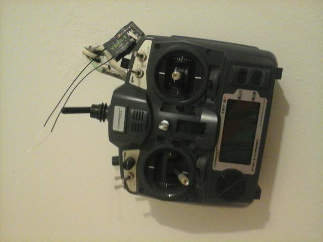 Radio Turmigy 9x com modulo frsky e bateria!