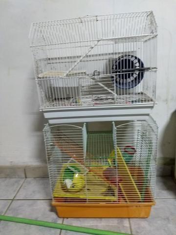 Vende-se Gaiola p/ Hamster