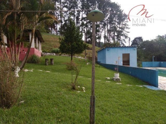 Chácara residencial à venda, Jardim das Palmeiras, Juquitiba. - Foto 20