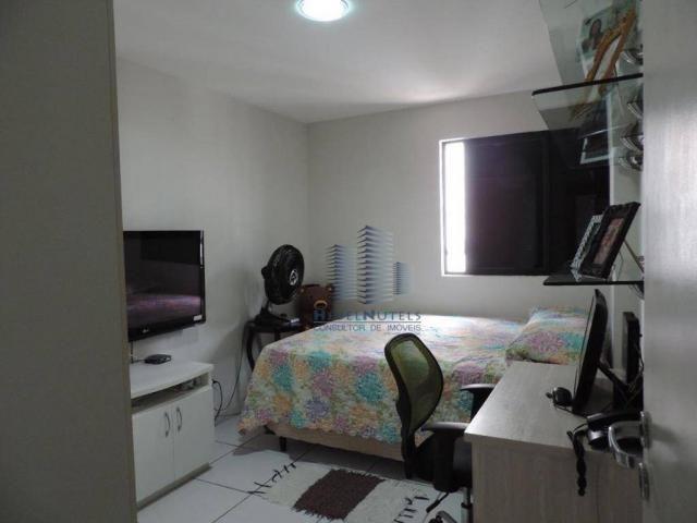 Apartamento com 4 dormitórios à venda, 133 m² por R$ 750.000 - Jatiúca - Maceió/AL - Foto 7