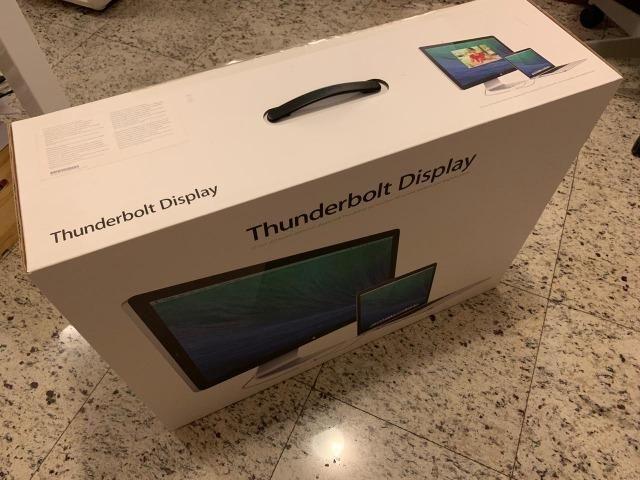Novissimo: Apple Display Thunderbolt 27 polegadas HD Widescreen alta definição para macs - Foto 6
