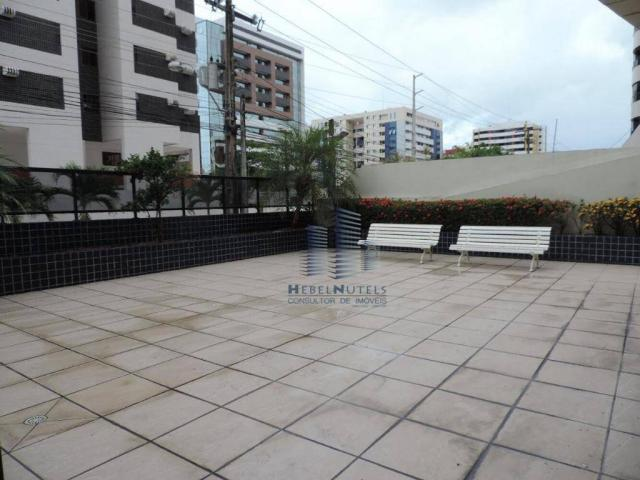 Apartamento com 4 dormitórios à venda, 133 m² por R$ 750.000 - Jatiúca - Maceió/AL - Foto 3