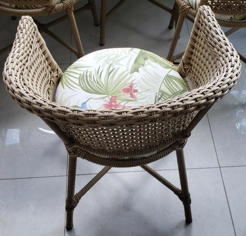 Conjunto cadeiras de varanda em vime - Foto 2