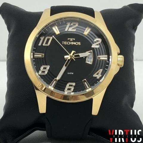 Relógio Technos Dourado A Partir De 299,00, Com Garantia de 12 Meses, Prova D'água, Origin - Foto 4