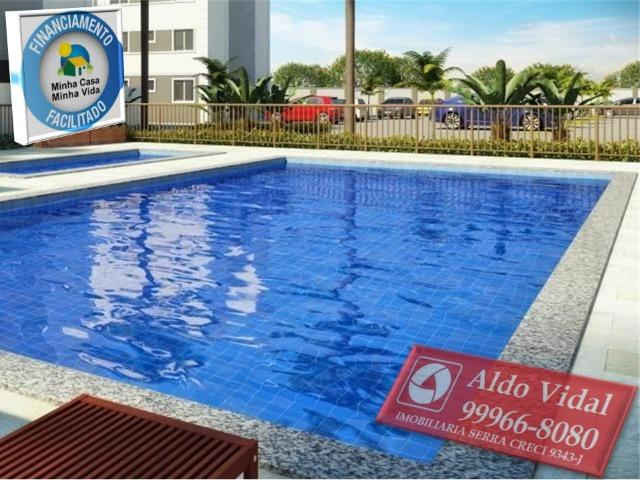 ARV55- Apartamento 01 Qrto P.N.E + E.L.E.V.A.D.O.R + Entrada Facilitada. - Foto 4
