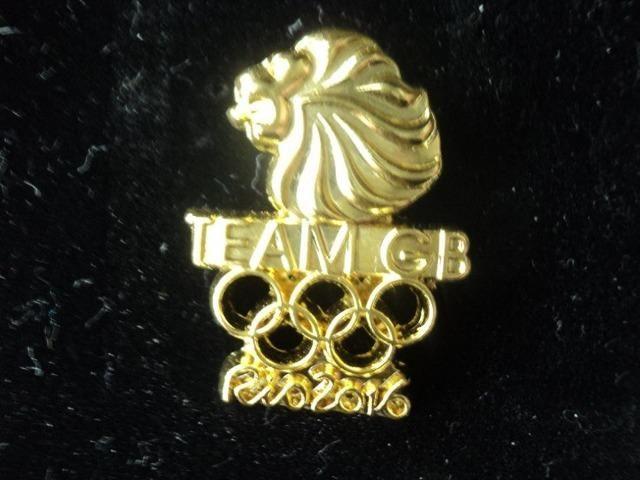 Pin Olimpíadas - Delegação Oficial Da Grã-bretanha