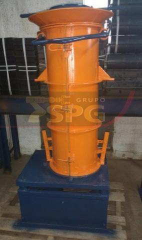 Conjunto vibratório para fabricar tubos manilhas de concreto - Foto 2