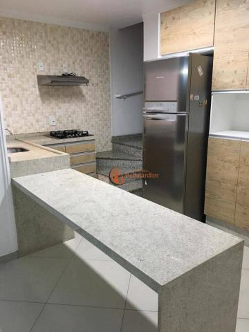 Cobertura com 3 dormitórios para alugar, 71 m² por r$ 2.200/mês - vila humaitá - santo and - Foto 12