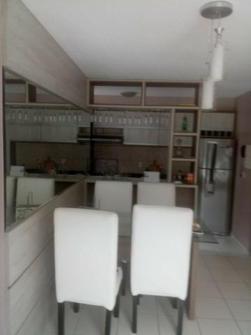 Apartamento Semi Mobiliado no Condomínio Villa Jardim Orquídea 3 Qts - Foto 12