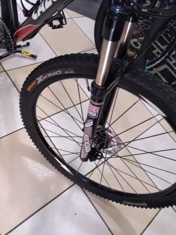 Bicicleta aro 29 Caloi,kit XT suspensão vc a ar - Foto 3