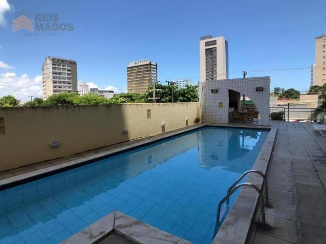 Apartamento com 2 dormitórios para alugar, 57 m² por R$ 1.600/mês - Tirol - Natal/RN - Foto 14