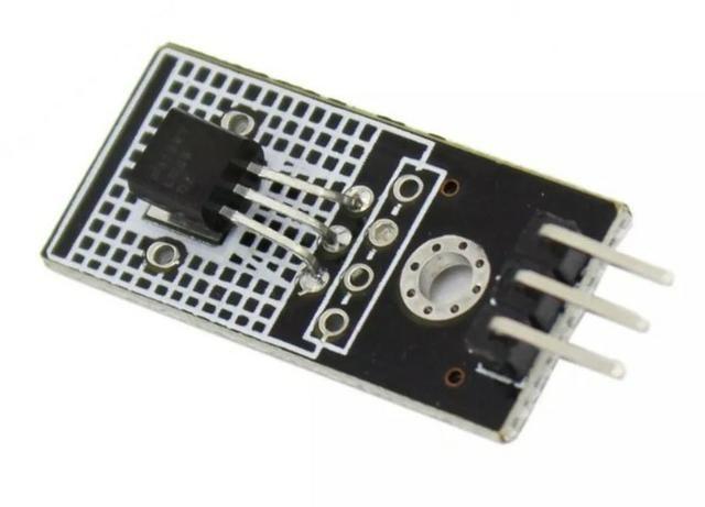 COD-AM258 Módulo Linear LM35Lm35d Sensor De Temperatura Digital Corrente contínua 4V-30V - Foto 3