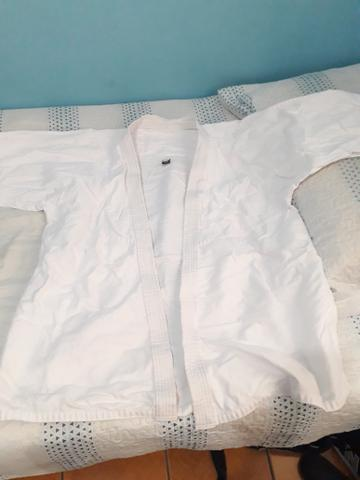Kimono branco A2 - Foto 2
