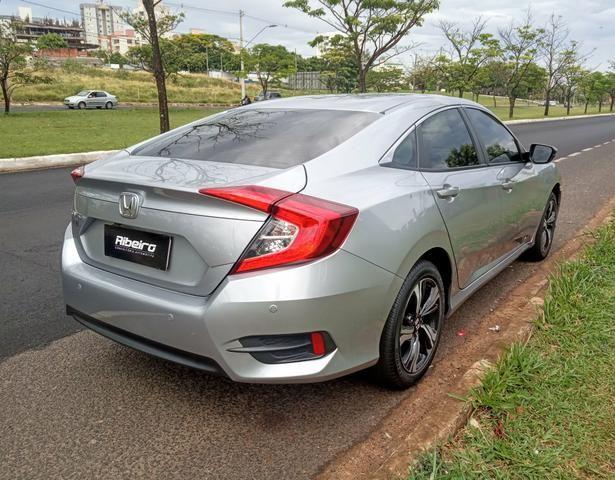 Honda Civic EXL 2018 garantia de fábrica até 2021 - Foto 5