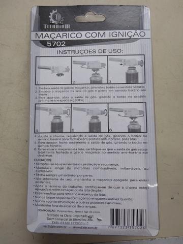 Maçarico com ignição - Foto 2