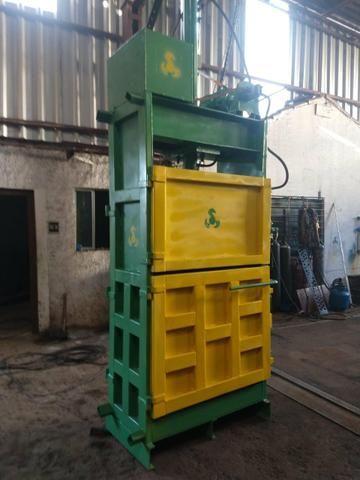 Enfardadeira prensa reciclagem pronta entrega - Foto 6