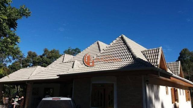 Chácara com 3 suítes à venda, 4000 m² por R$ 900.000 - Zona Rural - Piranguçu/MG - Foto 8