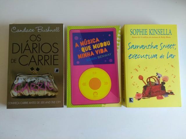 R$10,00 cada (livros de Meg Cabot, Sophie Kinsella e mais) - Foto 3