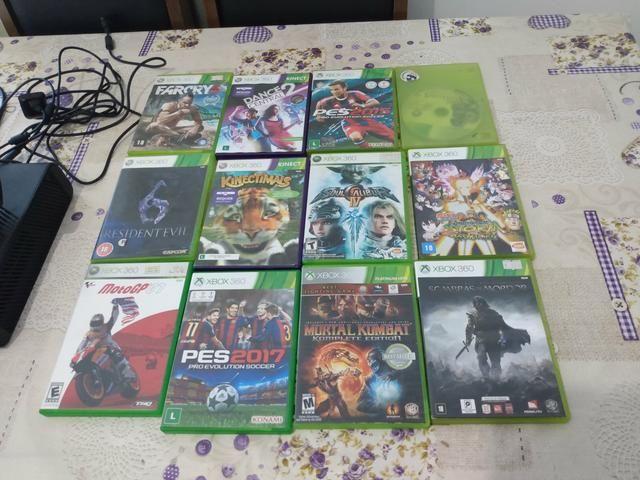 Xbox 360 + 12 jogos - Foto 5