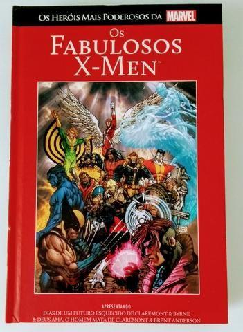 X-Men e homem aranha hqs