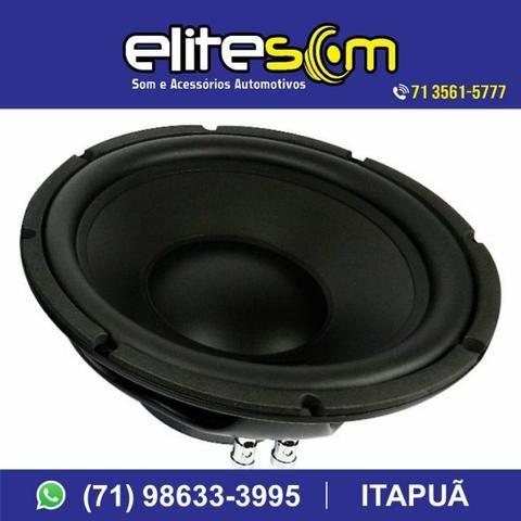 Subwoofer Nar Áudio, 200 Wrms, 10pol. instalado na Elite Som - Foto 4