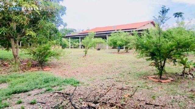 Chácara na Beira de Rio com 4 dormitórios à venda, 3600 m² por R$ 260.000 - Zona Rural - S - Foto 18