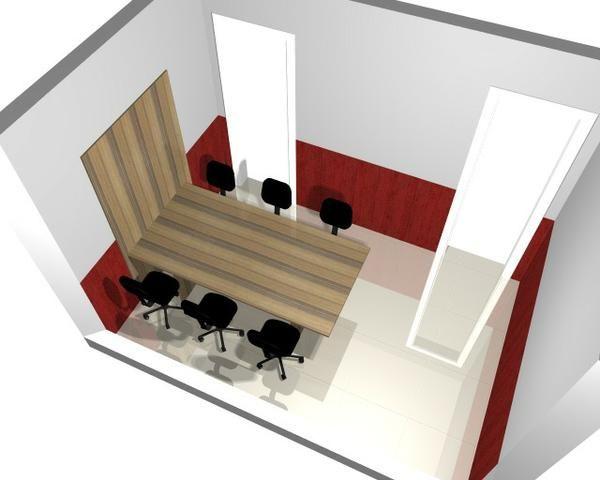 Mesas e cadeiras Escritório - Foto 5