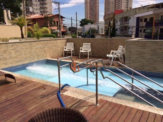 Apartamento à venda, 130 m² por r$ 850.000,00 - vila pires - santo andré/sp - Foto 15