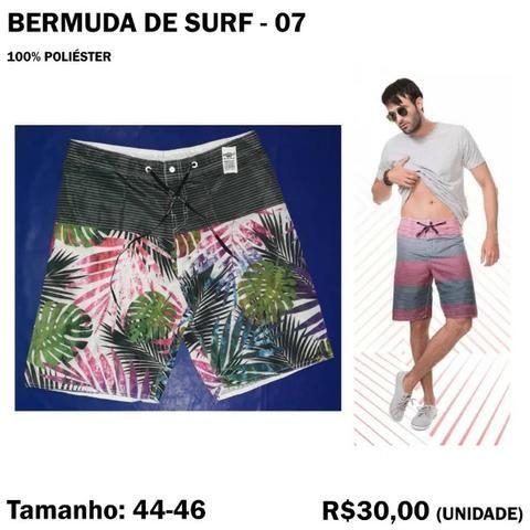 Bermuda Surf Surfista - Tamanho 44 - 46 - Foto 3