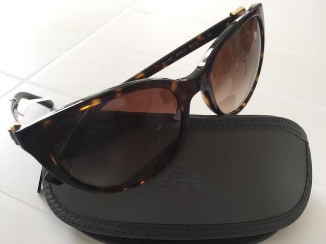 3b5201959b424 Óculos de Sol Feminino Empório Armani Original