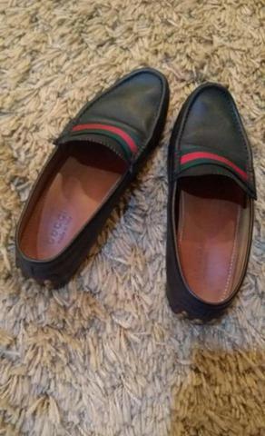 9f4e7ff772933 Mocassim - sapato Gucci - original - usado poucas vezes - numero 10 1 2